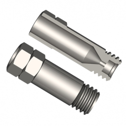 Agilent Column nut, inlet  with long ferrules