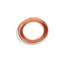 Agilent 1/8in x .065in Copper Tubing,50 Ft Coil