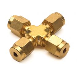 Agilent 1/8 Union Cross Brass