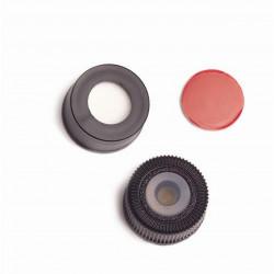 Agilent Blk cap, PTFE/Si sept,.060in,instd,100Pk
