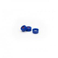 Agilent Blue Screw Cap,PTFE/Red Si Septa 1000
