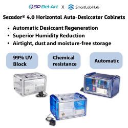 Bel-Art Secador® 4.0 Horizontal Auto-Desiccator Cabinets
