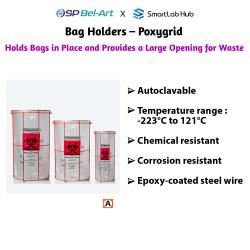 Bel-Art Bag Holders - Poxygrid