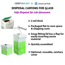Bel-Art Disposal Cartons for Glass