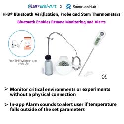 Bel-Art H-B Bluetooth Verification, Probe and Stem Thermometers