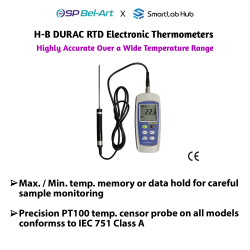 Bel-Art H-B DURAC® RTD Electronic Thermometers