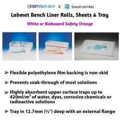 Bel-Art Labmat™ Bench Liner Rolls & Sheets