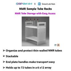 Bel-Art NMR Sample Tube Racks