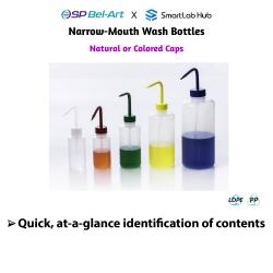 Bel-Art Narrow-Mouth Wash Bottles
