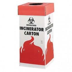 Bel-Art Cardboard Biohazard Incinerator Cartons; Floor Model (Pack of 6)