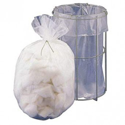 Bel-Art Clavies® Transparent Autoclavable Bags; 2 mil Thick, 10W x 10 in. H, Polypropylene (Pack of 100)