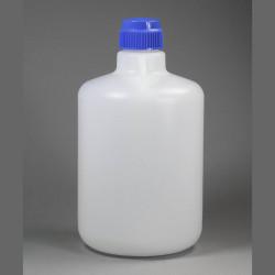 Bel-Art Autoclavable Polypropylene Carboy without Spigot; 20 Liters (5.3 Gallons)