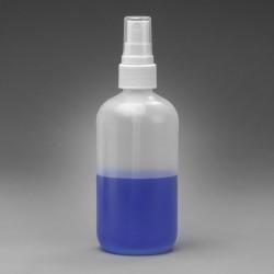 Bel-Art Spray Pump 250ml (8oz) Polyethylene Bottles (Pack of 12)