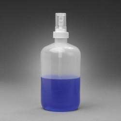 Bel-Art Spray Pump 500ml (16oz) Polyethylene Bottles (Pack of 12)