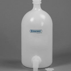 Bel-Art Polyethylene Carboys with Spigot; 4 Liters (1 Gallon)