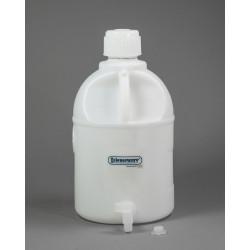 Bel-Art Polyethylene Carboys with Spigot; 20 Liters (5 Gallons)