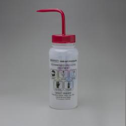 Bel-Art GHS Labeled Safety-Vented Acetone Wash Bottles; 500ml (Pack of 4)