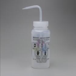 Bel-Art GHS Labeled Safety-Vented Ethanol Wash Bottles; 500ml (Pack of 4)