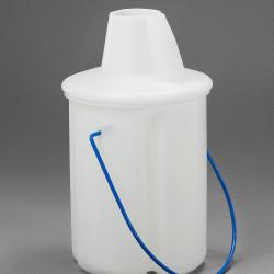 Bel-Art Truncated Style Acid/Solvent Bottle Carrier; Holds One 2.5 Liter (5 Pint) Bottle, Polyethylene