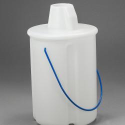 Bel-Art Truncated Style Acid/Solvent Bottle Carrier; Holds One 4 Liter (1 Gallon) Bottle, Polyethylene