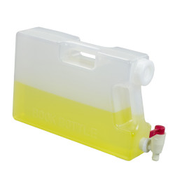 Bel-Art Polypropylene Book Bottle with Spigot; 5 Liters (1.25 Gallons), 3³/₈ x 9¹/₂ x 14³/₄ in.