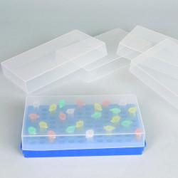 Bel-Art Microcentrifuge Tube Rack Cover, Translucent (Pack of 5)
