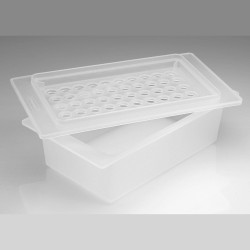 Bel-Art Microcentrifuge Tube Ice Rack/Tray; For 1.5ml Tubes, 50 Places