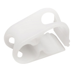Bel-Art Acetal Mid-Range Plastic Tubing Clamps; For ⅛ to ⁷⁄₁₆ in. O.D. Tubing (Pack of 12)
