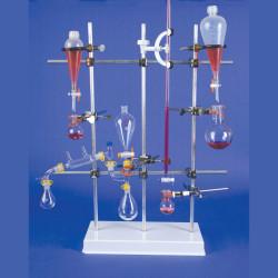 Bel-Art Aluminum Horizontal Rod For Polypropylene Lattice Support Stand F38994-0000; 28½ X ½ In.