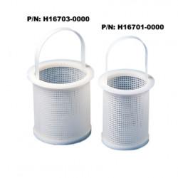 Bel-Art Polyethylene Straining Basket; 4 in. O.D., 3⅜ in. I.D., 5 in. Height