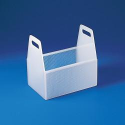 Bel-Art Rectangular Dipping Basket; Polypropylene, 12 x 8 x 12 in.