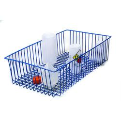Bel-Art Poxygrid Steel Wire Basket; 24¾ x 14 x 6 in.