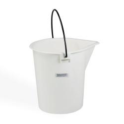 Bel-Art Heavy-Duty 15 Liter Pail; Polyethylene Bucket, 13 in. H x 11 in. I.D.