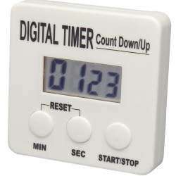 Bel-Art, H-B DURAC Single Channel Electronic Timer with Memory and Certificate of Calibration