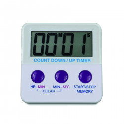 Bel-Art, H-B DURAC Single Channel, Switchable Electronic Timer with Certificate of Calibration