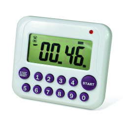 Bel-Art, H-B DURAC Single Channel Electronic Timer with 10-Button Direct Input and Certificate of Calibration