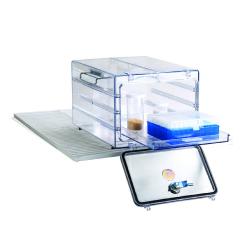 Bel-Art Secador® Polycarbonate Refrigerator Ready Desiccator; 0.6 cu. ft.