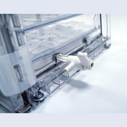 Bel-Art Viton 3-Way Valve; For Lab Companion Cabinet Style Vacuum Desiccators