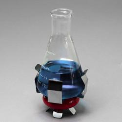 Bel-Art 0.46lb Weighted Beaker/Flask Holder with Vikem Vinyl Coating; For 100ml Beakers