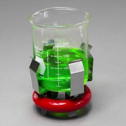 Bel-Art 0.75lb Weighted Beaker/Flask Holder with Vikem Vinyl Coating; For 250ml Beakers