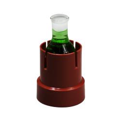 Bel-Art Flaskup Polypropylene Flask Holders; For 25ml Round Bottom Flasks (Pack of 3)