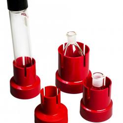 Bel-Art Flaskup Polypropylene Flask Holders; Assortment (Pack of 12)