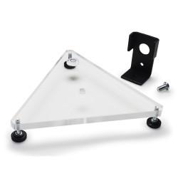 Bel-Art Leveling Base Kit for Mounted Flowmeters