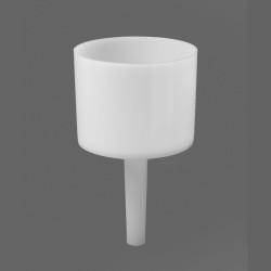 Bel-Art Polyethylene 1000ml Single Piece Buchner Funnel