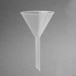 Bel-Art Polypropylene 32.8ml Standard Stem Funnels (Pack of 12)
