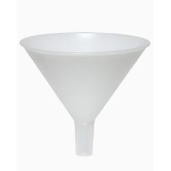 Bel-Art Polypropylene 594ml Powder Funnel with 24/40 Tapered Stem