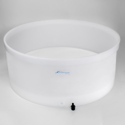Bel-Art Polyethylene Buchner Table-Top Funnel with Medium Porosity Fixed Plate; 36 in. I.D., 14.75 in. Height