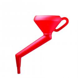 Bel-Art Polyethylene 1000ml Offset Stem Funnel
