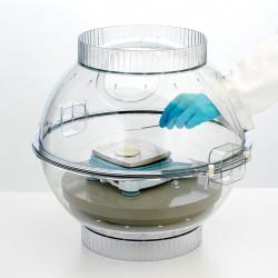Bel-Art Techni-Dome Polycarbonate 360 Balance Enclosure; 65 Liters