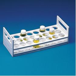 Bel-Art Scintillation Vial Rack; For 25-30mm Vials, 24 Places